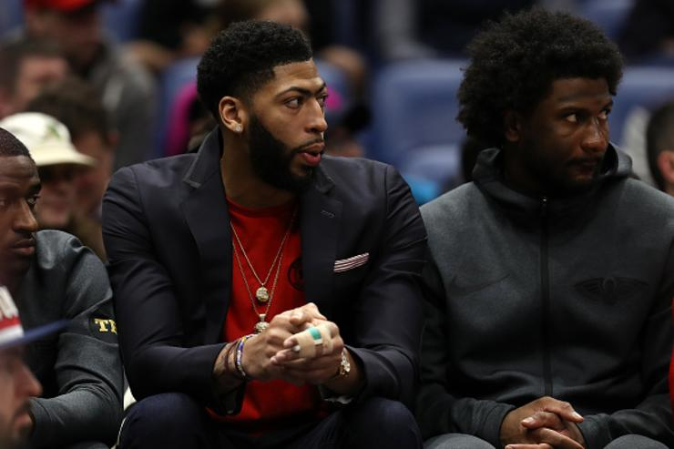Photo of Pelicans Plan To Reduce Anthony Davis' Playing Time