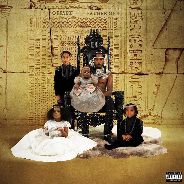 "Photo of Stream Offset's Solo Debut ""Father Of 4"" Album"