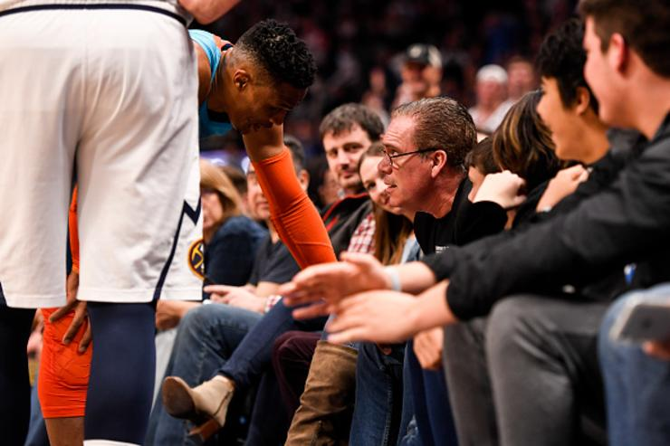 """Photo of Russell Westbrook On Being 'Hit' By Young Fan: """"You've Got To Control Your Kids"""""""