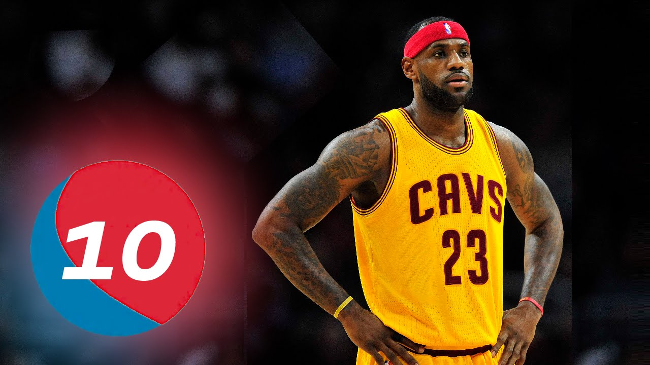 """Photo of LeBron James Is The Only Player """"Top 10 All-Time"""" In Assists And Points"""