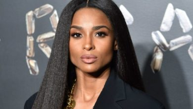 """Photo of Ciara Poses With No Makeup Or Extensions, """"Don't be afraid to let YOUR Beauty Marks show!"""""""