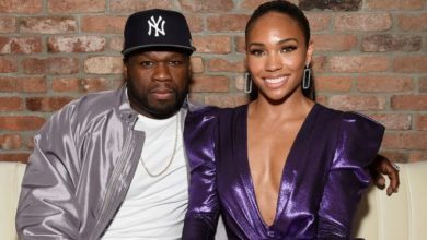 Photo of 50 Cent's Girlfriend Shares Photo With Rapper, Fans Claim It's Not Him